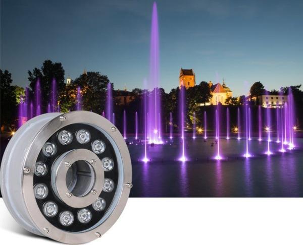 Бассейновые и фонтанные светодиодные светильники